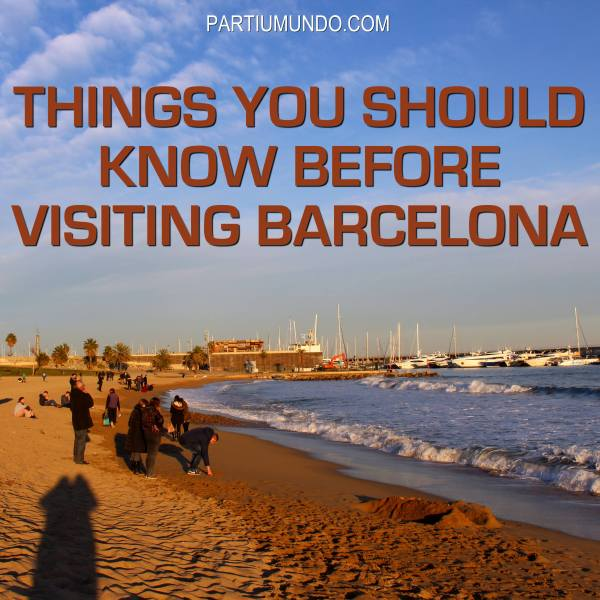 Things you should know - Barcelona 1